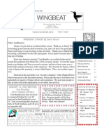 Jan-Feb 2003 WingBeat Cullman Audubon Society Newsletter