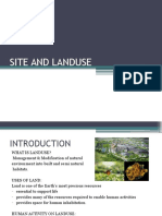 Site and Landuse