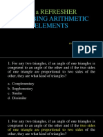 001a Refresher Arithmetic Elements