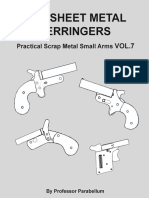 254227075 DIY Sheet Metal Derringers Practical Scrap Metal Small Arms Vol 7
