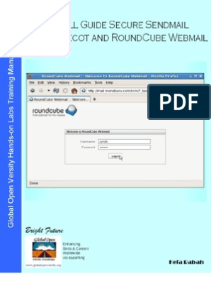 Install Guide Secure Sendmail with Dovecot & Roundcube Webmail v1 0
