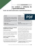MANIFESTACIONES OCULO GASTROINTESTINALES