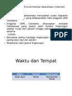 Program Kerja Environmental Awareness (Internal