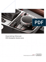 Audi Navigation System Plus - MMI Operating Manual