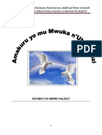 Amakuru Yo Mu Mwuka n'Ubuhanuzi Book 1PDF