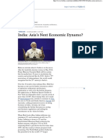 Fuller, Ed_India. Asia's Next Economic Dynamo