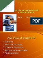 Costos de Exportacion e Imprtacion Logistica Global