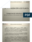 1_3 Ingeniería de Planta - Categorización Industrial (NCA)