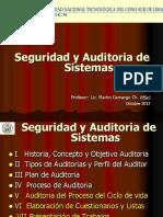 Seguridad y Auditoria de Sistemas V