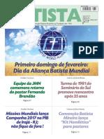 O Jornal Batista - 05-02-2017