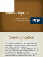 Editors Journal