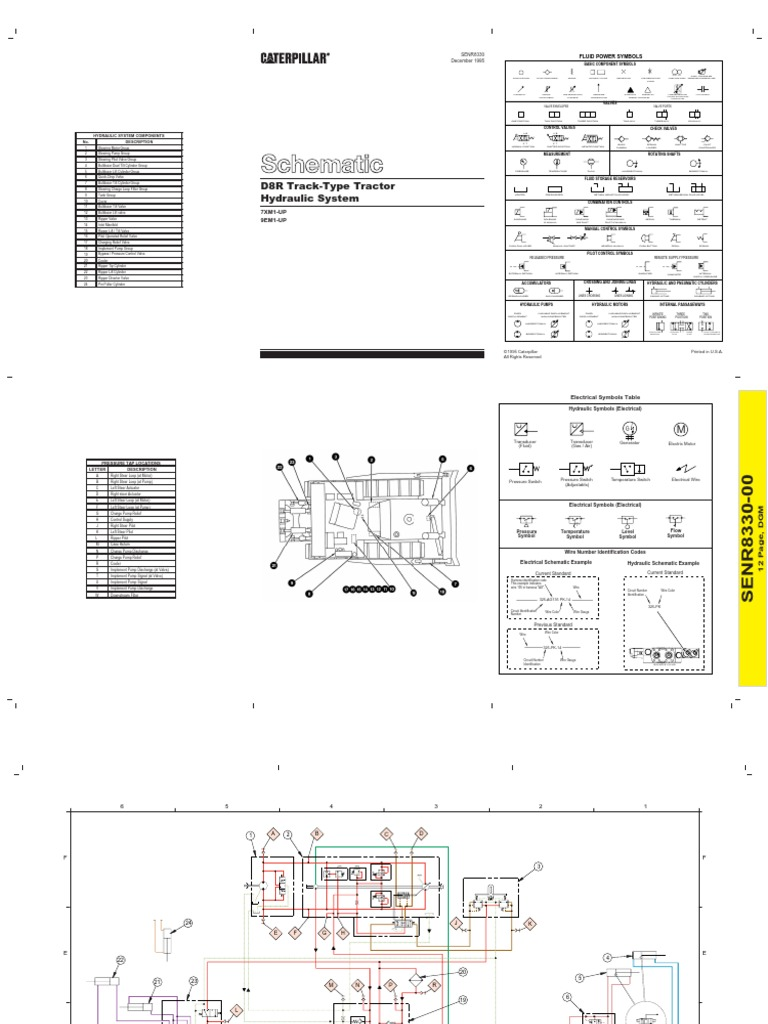 Cat D8n Wiring Diagram Electrical Diagrams 3034 Engine B8 Hyd Diag Pdf D4h