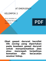 Obat Obatan Emergency