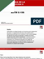 ASTM C-150 Cemento Portland I