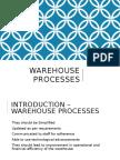 Warehouse Processes