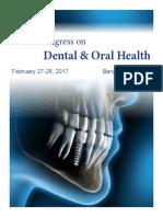 Brochure_World Congress on Dental & Oral Health