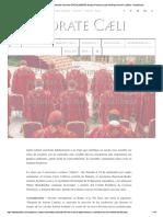¡EXPLOSIVO! Cuatro Cardenales Solicitan...Arifique Amoris Laetitia - Actualizado