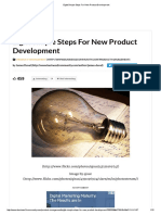 Eight Simple Steps for New Product Development