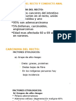 Cancer y Trauma Anorectal