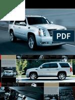 Cadillac 2011 ESC-Family
