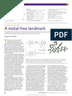 Nature Chemistry Volume 6 Issue 11 2014 [Doi 10.1038%2Fnchem.2093] Stephan, Douglas W. -- Frustrated Lewis Pairs- A Metal-free Landmark