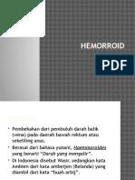 MATERI HEMOROID