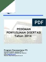 ITS Pedoman Penyusunan Disertasi 2014 Ind