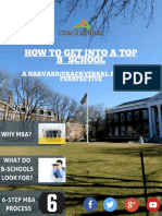How to Get Into a Top B-School - Updated