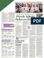 2013 JUL Reforma, Inspira Papa Francisco Humildad