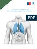Contenido Capacitacion en Tuberculosis Para Encargados de Programa en Aps