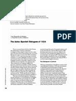 Aztec Spanish Dialogues 1524