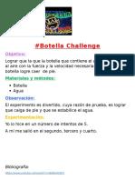 Botella Challenge