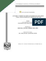 Analisis y Diseño de Desplazadores de Fase MEMS Para Aplicaciones en Arreglos de Fase