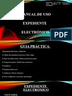 EXPEDIENTE ELECTRÓNICO EN PARAGUAY. Manual de uso