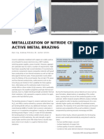 35 Metallization Nitride Ceramics
