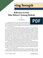 Reflection of Iron