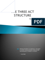 The 3-Act Structure