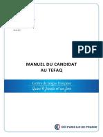 Manuel Candidat TEFAQ