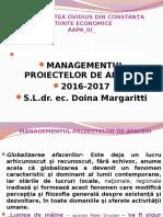 Mangem Proiect Aapa II 2016 2017