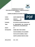 El Renacimiento Del Proceso de Integración Latinoamericano
