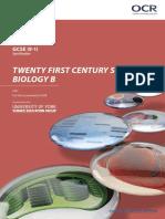 OCR GCSE Gateway Biology B Specification (2018) (J257)
