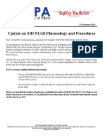 16SAB11 - Update on SID STAR Phraseology & Procedures