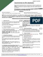 Checklist - twenty five percent application.pdf