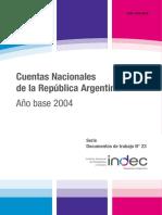 Cuentas Nacionales Argentinas (2004)