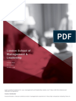 London School of Management %26 Leadership