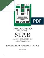 Anais Congress Nacional Stab 2016