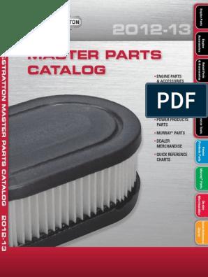 10-11 HP Vertical Shaft Briggs engines OEM New 496894S FILTER-A//C CARTRIDGE
