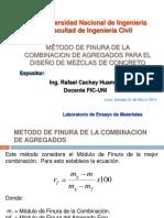 Modulo de Finura de La Combinacion RAFAEL CACHAY