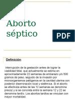 ABORTO SEPTICO.ppt