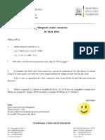 2014 Matematica Olimpiada Satelor Satmarene Clasele Ivviii Subiecte